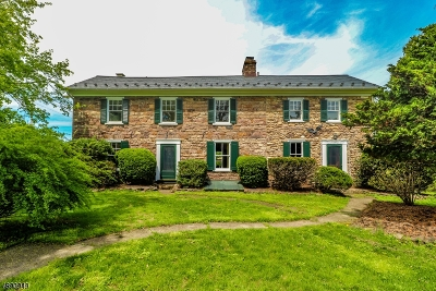 Delaware Twp. Single Family Home For Sale: 102 Kingwood Stockton Rd