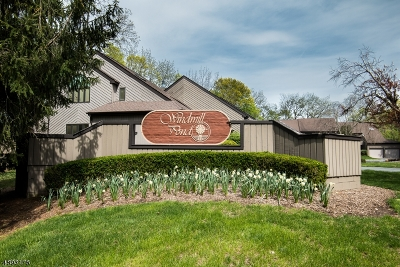 Morristown Town, Morris Twp. Condo/Townhouse For Sale: 27 Windmill Dr