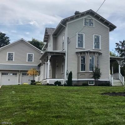 Madison Boro Single Family Home For Sale: 165 Ridgedale Avenue