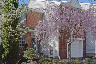 Boonton Twp. Condo/Townhouse For Sale: 25 Bradford Ter