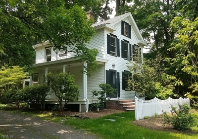 Bernards Twp. Single Family Home For Sale: 28 N Finley Ave