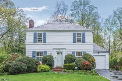 Millburn Twp. Single Family Home For Sale: 42 Exeter Rd