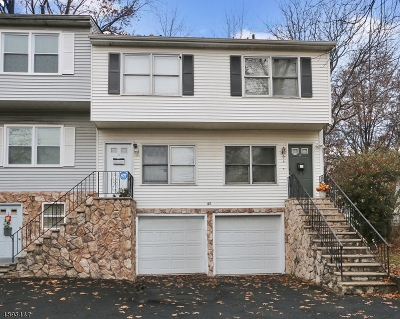 Irvington Twp. NJ Condo/Townhouse For Sale: $175,000