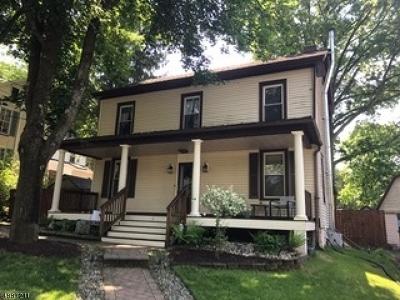 Glen Gardner Boro, Hampton Boro Single Family Home For Sale: 6 Lower Skillman St