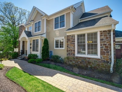 Millburn Twp. Condo/Townhouse For Sale: 49 Woodstone Cir