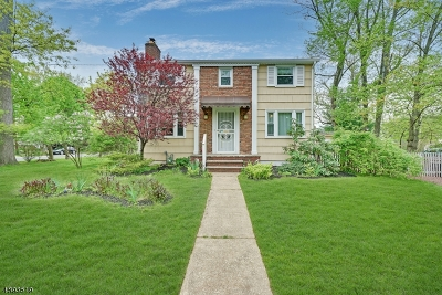 Westfield Town NJ Single Family Home For Sale: $440,000
