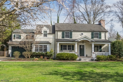 Chatham Twp Single Family Home For Sale: 5 Warwick Rd