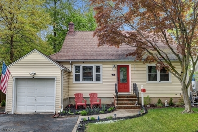 Fanwood Boro Single Family Home For Sale: 11 Gere Pl