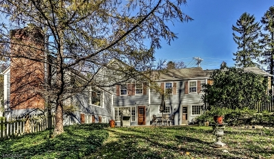 Mendham Boro, Mendham Twp. Single Family Home For Sale: 22 Hilltop Rd