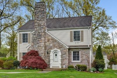 Millburn Twp. Single Family Home For Sale: 31 Exeter Rd