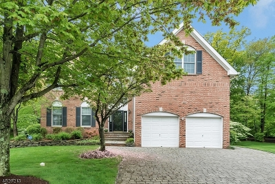 Bernards Twp., Bernardsville Boro Single Family Home For Sale: 8 Gordon Pl