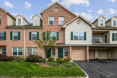 Morristown Town, Morris Twp. Condo/Townhouse For Sale: 17 Cadence Ct