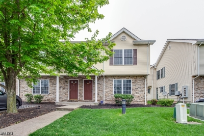 Franklin Twp. NJ Condo/Townhouse For Sale: $228,000