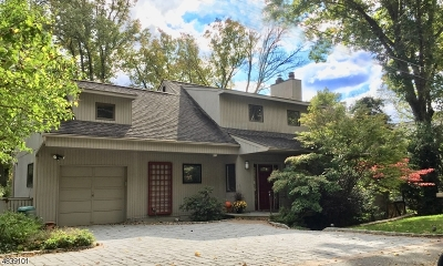 Harding Twp. NJ Single Family Home For Sale: $1,350,000