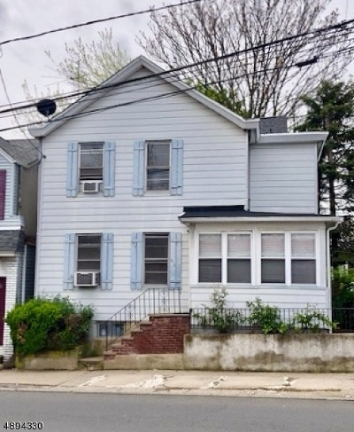 Haledon Boro Single Family Home For Sale: 475 Haledon Ave