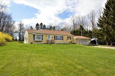Stillwater Twp. Single Family Home For Sale: 1005 Stillwater Rd