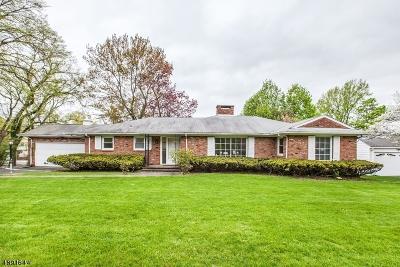 Millburn Twp. Single Family Home For Sale: 1 Deerfield Rd