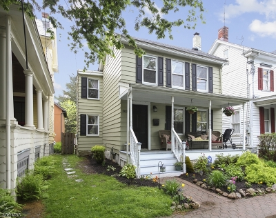 Frenchtown Boro Single Family Home For Sale: 503 Harrison St