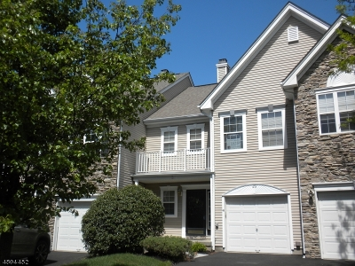 Bernards Twp. Condo/Townhouse For Sale: 45 Musket Dr