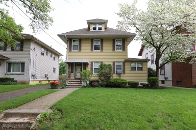 Passaic City Single Family Home For Sale: 334 Van Houten Ave