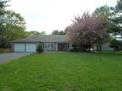 Hillsborough Twp. NJ Single Family Home Active Under Contract: $425,000
