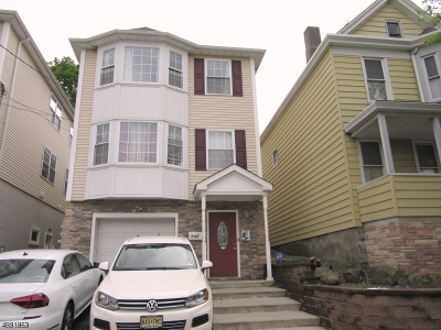 Passaic City Multi Family Home For Sale: 205 Summer St. 2nd Floor #2nd