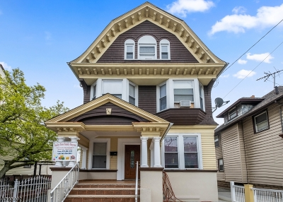 Newark City Single Family Home For Sale: 341-343 Clifton Ave