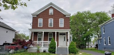 Somerville Boro Multi Family Home For Sale: 27 3rd St