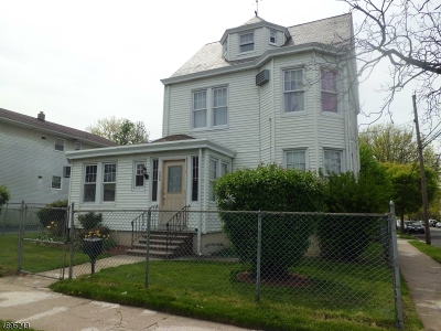 Paterson City Single Family Home For Sale: 286-288 Vernon Ave