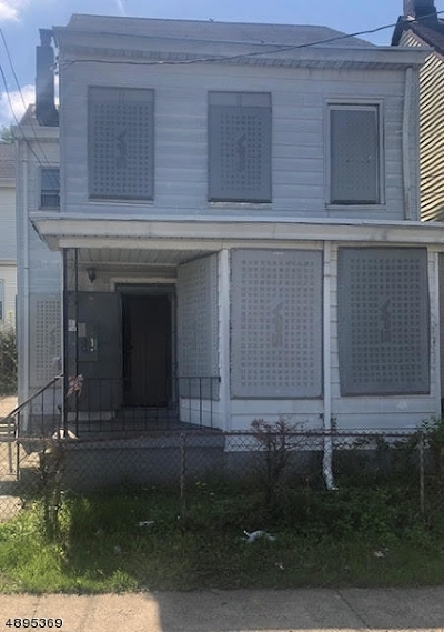 Paterson City Multi Family Home For Sale: 110 N 9th St