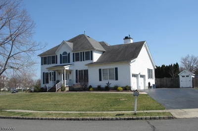 Hillsborough Twp. Single Family Home For Sale: 34 Wesley Rd
