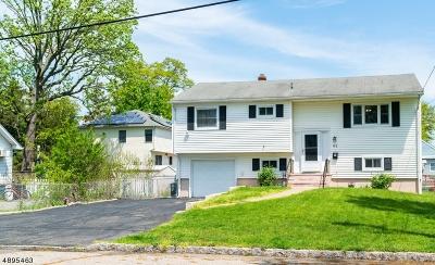 Parsippany Single Family Home For Sale: 62 Fairmount Rd
