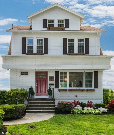 South Orange Village Twp. Single Family Home For Sale: 202 W Fairview Ave