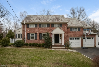 Millburn Twp. Single Family Home For Sale: 14 South Ter