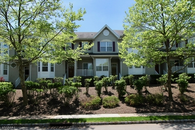 Hunterdon County Condo/Townhouse For Sale: 8 Chesterfield Ct