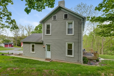 Hunterdon County Single Family Home For Sale: 23 Cherryville-Stanton Rd