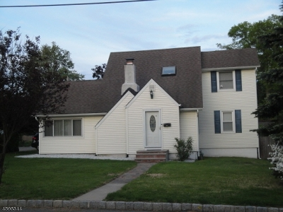 Parsippany-Troy Hills Twp. Single Family Home For Sale: 34 Ronald Rd