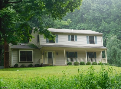 Bethlehem Twp. Single Family Home For Sale: 928 Mountain View Rd