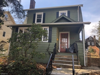 Glen Ridge Boro Twp. Single Family Home For Sale: 154 Essex Ave