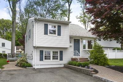 Parsippany-Troy Hills Twp. Single Family Home For Sale: 38 Marmora Rd