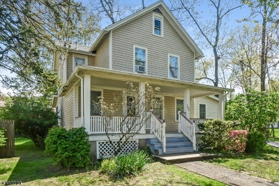West Caldwell Twp. Single Family Home For Sale: 162 Central Ave