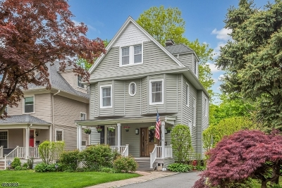 Montclair Twp. Single Family Home For Sale: 70 Montclair Ave