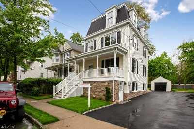 Morristown Single Family Home For Sale: 11 Green St