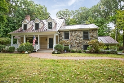 Chatham Twp. Single Family Home For Sale: 75 Linden Ln