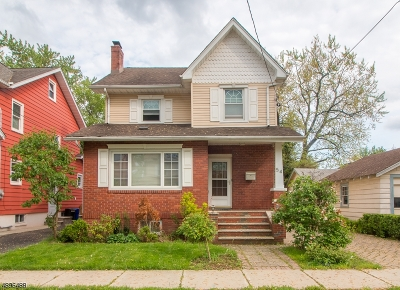 Maplewood Twp. Single Family Home For Sale: 54 Hudson Ave