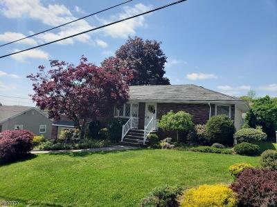 Totowa Boro Single Family Home For Sale: 147 Hudson Ave