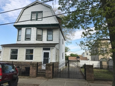 Kearny Town Multi Family Home For Sale: 52 Ivy St