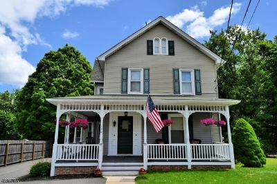Andover Boro Single Family Home For Sale: 120 Main St