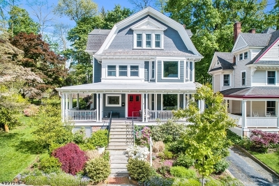 Morristown Single Family Home For Sale: 28 Wetmore Ave