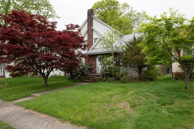 Westfield Town NJ Single Family Home For Sale: $454,000
